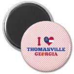 I Love Thomasville, Georgia Fridge Magnets