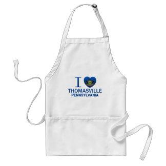 I Love Thomasville, PA Adult Apron