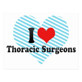 I Love Thoracic Surgeons Post Card