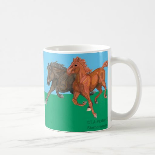 I Love Thoroughbreds! Mug