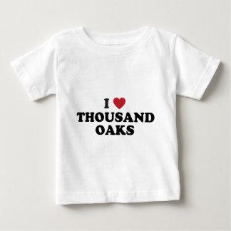 I Love Thousand Oaks California Shirt