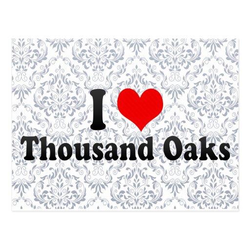 I Love Thousand Oaks, United States Postcards