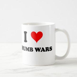 I Love Thumb Wars Coffee Mug