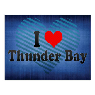 I Love Thunder Bay, Canada Postcard