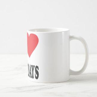 I love thursdays icon mug