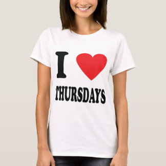 I love thursdays icon T-Shirt