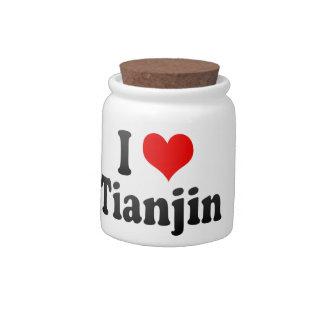 I Love Tianjin, China. Wo Ai Tianjin, China Candy Dish