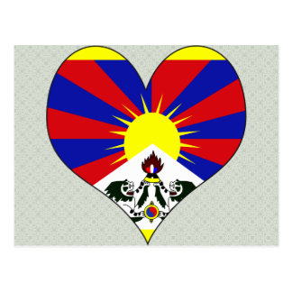 I Love Tibet Postcard