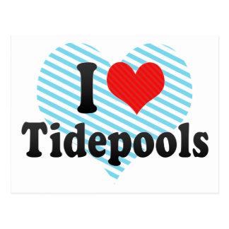 I Love Tidepools Post Card