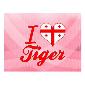 I Love Tiger, Georgia Postcard