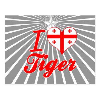 I Love Tiger, Georgia Postcards