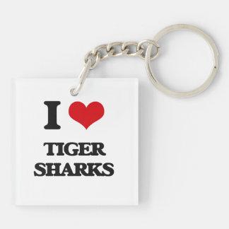 I love Tiger Sharks Key Chains