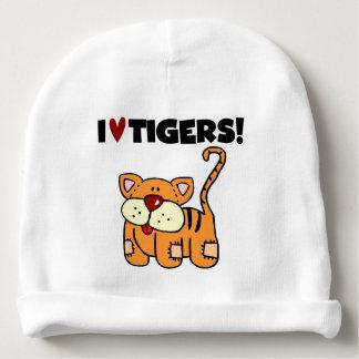 I Love Tigers Baby Beanie