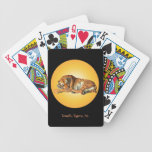 I Love Tigers Playing cards