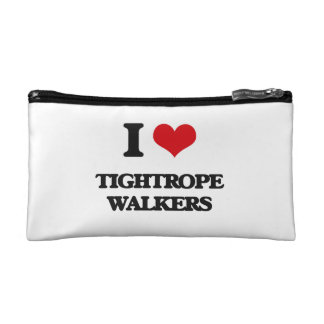 I love Tightrope Walkers Cosmetic Bag