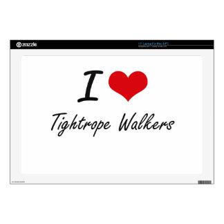 I love Tightrope Walkers Laptop Decals