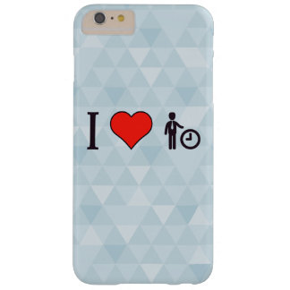 I Love Time Management Barely There iPhone 6 Plus Case