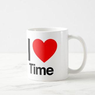 i love time mug