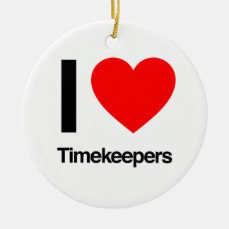 i love timekeepers ornaments