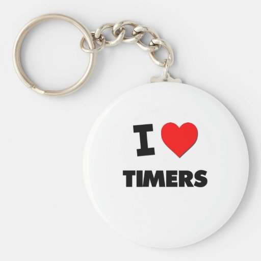 I love Timers Keychains