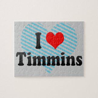 I Love Timmins, Canada. I Love Timmins, Canada Jigsaw Puzzle