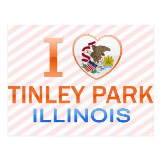 I Love Tinley Park, IL Postcard