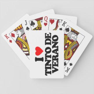 I LOVE TINTO DE VERANO BARAJAS DE CARTAS