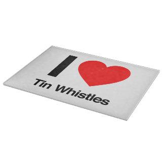i love tinwhistles cutting board