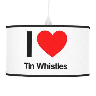 i love tinwhistles pendant lamp