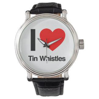 i love tinwhistles wristwatches