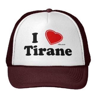 I Love Tirane Mesh Hat