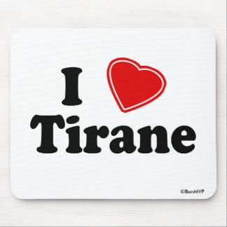 I Love Tirane Mousepad