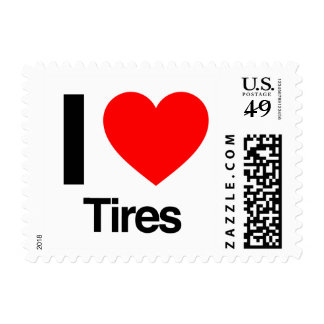 i love tires stamps