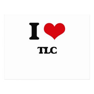 I love Tlc Postcard