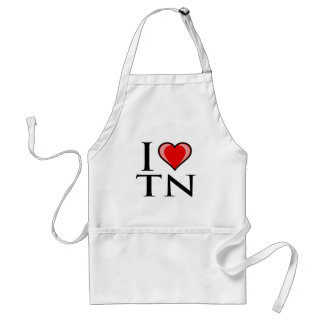 I Love TN - Tennessee Adult Apron