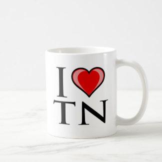 I Love TN - Tennessee Coffee Mug