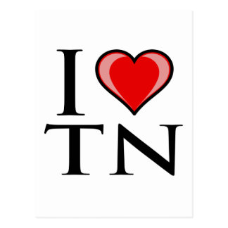 I Love TN - Tennessee Postcard