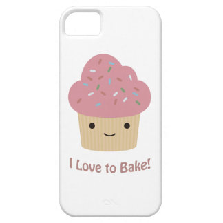 I love to bake iPhone SE/5/5s case