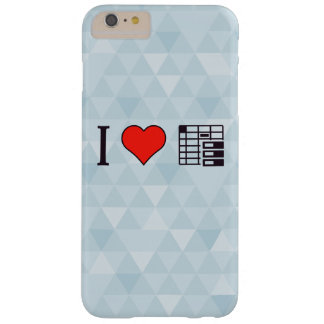 I Love To Be Organised Barely There iPhone 6 Plus Case