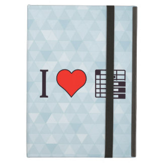 I Love To Be Organised Cover For iPad Air