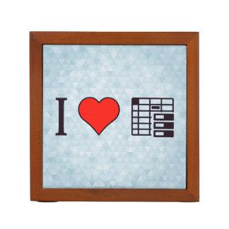 I Love To Be Organised Desk Organizer