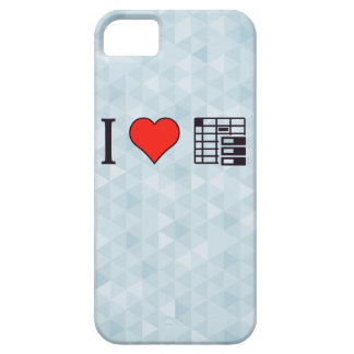 I Love To Be Organised iPhone SE/5/5s Case