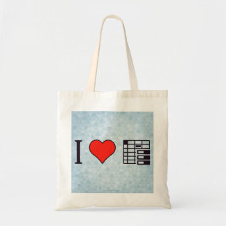 I Love To Be Organised Tote Bag