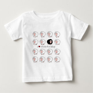 I love to be the black sheep tee shirt