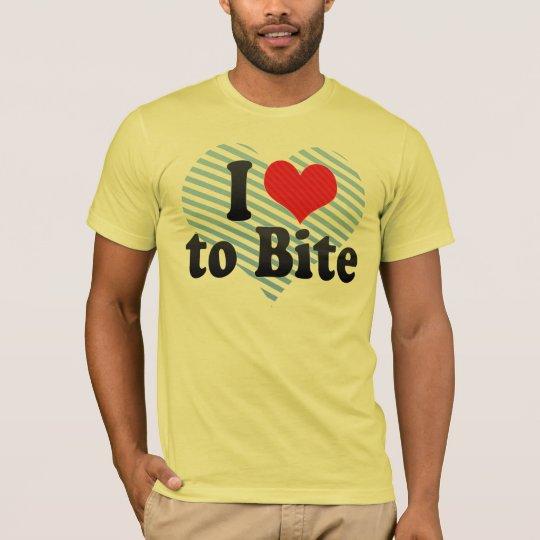 I Love to Bite T-Shirt