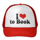 I Love to Book Trucker Hat