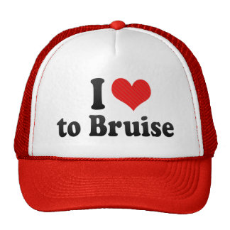 I Love to Bruise Trucker Hat