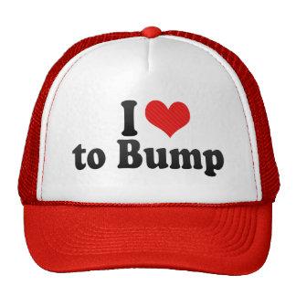 I Love to Bump Mesh Hat