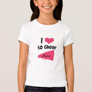 I love to Cheer - Cool Cheerleader Stuff T-Shirt