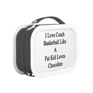 I Love To Coach Basketball Like A Fat Kid Loves Ch Replacement Plate